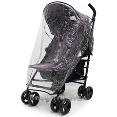Rain Cover To Fit Hauck Roma Stroller Professional Heavy Duty Rain Cover - Baby Travel UK  - 3