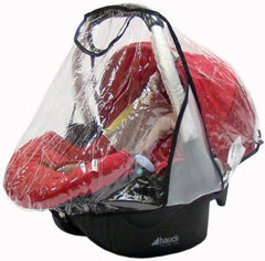 Carseat Rain Cover For Hauck Manhattan 0+ Car Seat - Baby Travel UK  - 1
