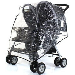 Rain cover To Fit With Mamas & Papas Twin Pulse , Beat Twin - Baby Travel UK  - 3