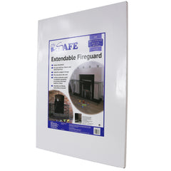 iSafe Extendable Fireguard 94 Cm X 174 Cm Width Nurseryware Fire Place Protection - Baby Travel UK  - 5