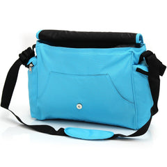 Baby Travel Zeta Changing Bag Plain OCEAN Complete With Changing Matt - Baby Travel UK  - 3