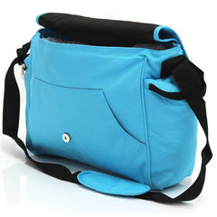 Baby Travel Zeta Changing Bag Plain OCEAN Complete With Changing Matt - Baby Travel UK  - 6