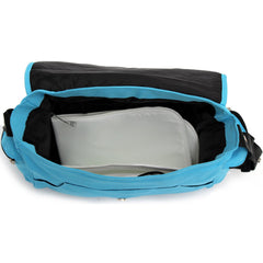 Baby Travel Zeta Changing Bag Plain OCEAN Complete With Changing Matt - Baby Travel UK  - 4