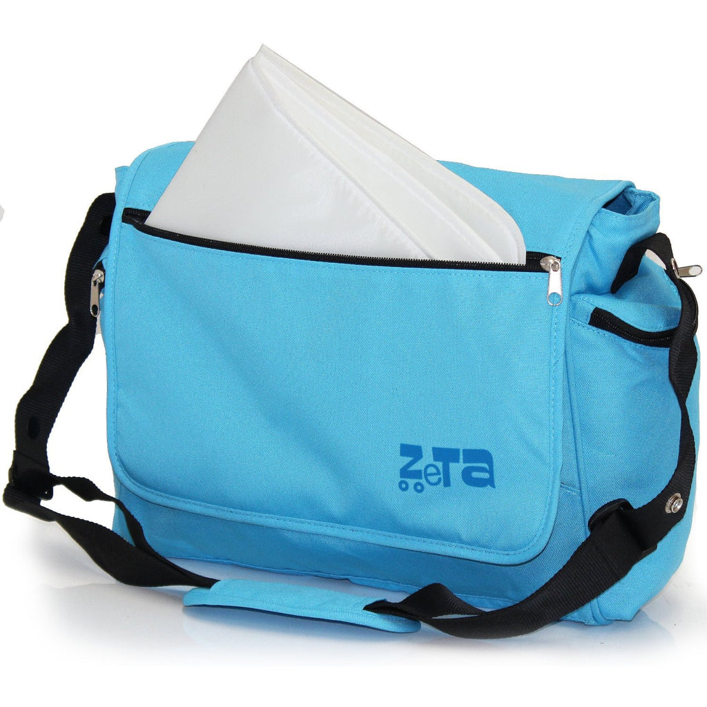 Baby Travel Zeta Changing Bag Ocean (Plain Baby Blue) - Baby Travel UK  - 1