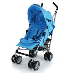 ZeTA Vooom Stroller Ocean With Luxury Padded Liner - Baby Travel UK  - 2