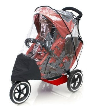 Rain Cover To Fit Phil & Teds Sport Double - Baby Travel UK