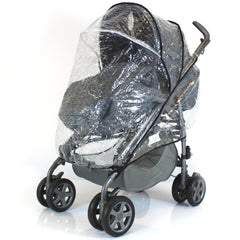Rain cover For Mamas & Papas Pliko - Baby Travel UK  - 3