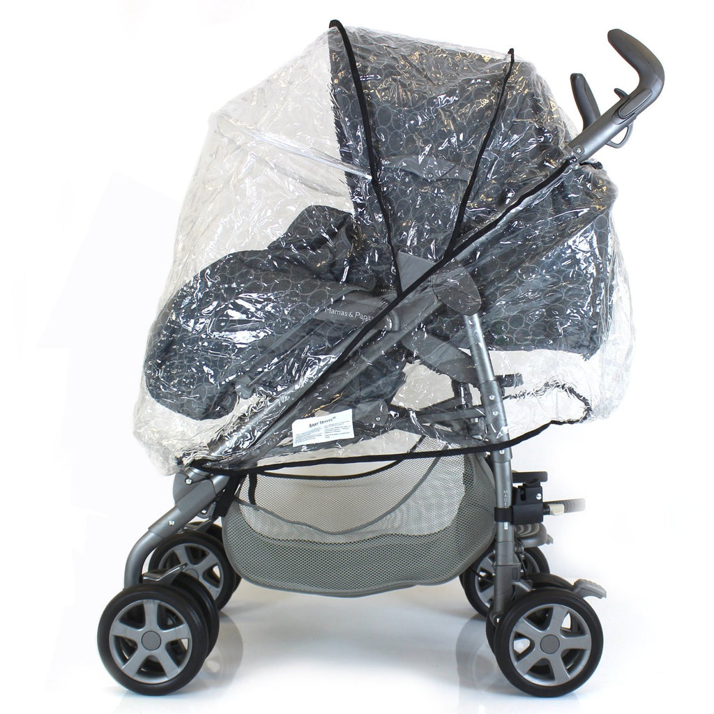 Universal Raincover For Silver Cross 3D Pushchair Ventilated Top Quality NEW - Baby Travel UK  - 1