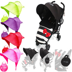 I-Safe Buggy Shade Universal Stroller Sun Shade Maker To Fit Argos Cuggl Maple Navy Pushchair