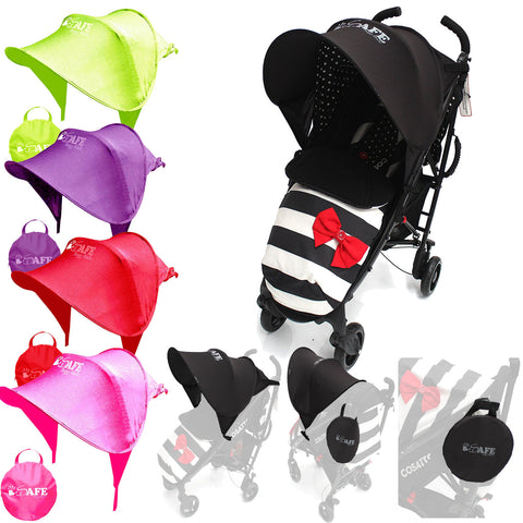 I-Safe Buggy Shade Universal Stroller Sun Shade Maker To Fit Argos Cuggl Elm Pushchair