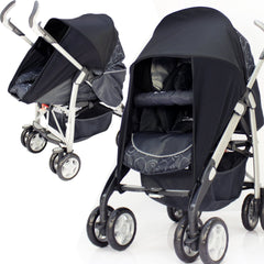 isafe Sunny Sail Fits Mamas And Papas Ultima Bebecar  3 In 1 - Baby Travel UK  - 1