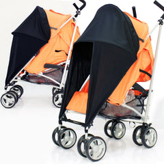 iSafe™ Sunny Sail Stroller Shade Fits Cosatto Memo Cabi Budi 50 Upf - Baby Travel UK  - 1