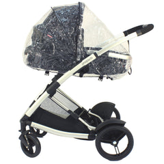 Phil & Teds Storm Rain Cover for Promenade Baby Pushchair Carrycot Tandem inline - Baby Travel UK  - 3