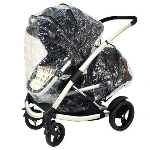 Phil & Teds Storm Rain Cover for Promenade Baby Pushchair Carrycot Tandem inline