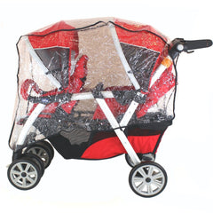 New Tandem Stroller Raincover For Chicco Together Travel System & Pram Mode - Baby Travel UK  - 3