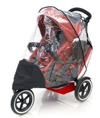 Rain Cover For Phil And Teds Dash Double Raincover - Baby Travel UK  - 2