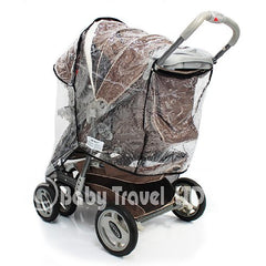 Raincover For Graco Quattro Deluxe - Baby Travel UK  - 5