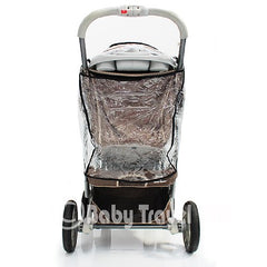 Raincover For Graco Quattro Deluxe - Baby Travel UK  - 4