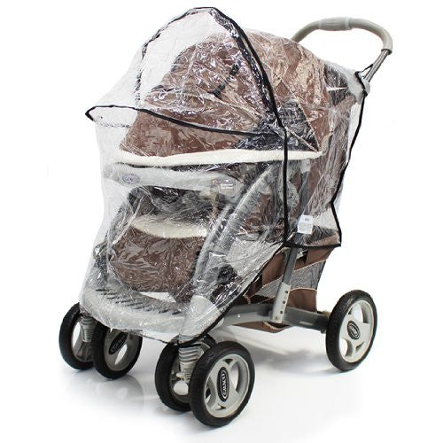 Raincover For Graco Quattro Deluxe - Baby Travel UK  - 8