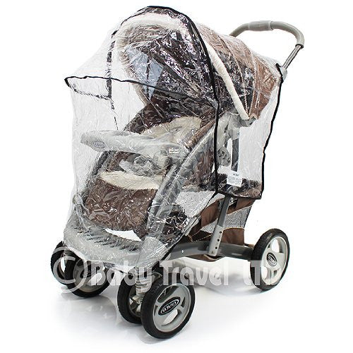 Raincover For Graco Quattro Deluxe - Baby Travel UK  - 6