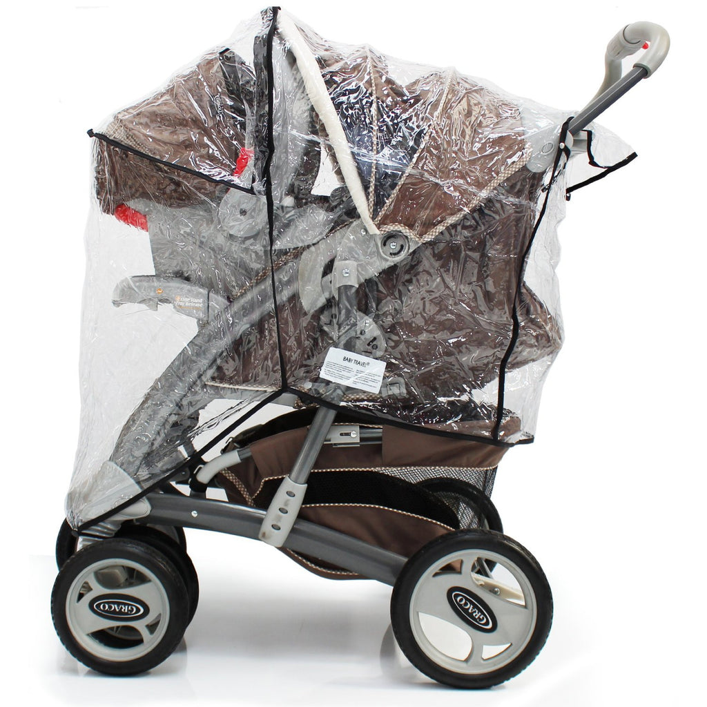 Universal Rain Cover Fits Mothercare U-move Travel System - Baby Travel UK  - 1