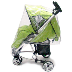 Rain Cover To Fit Petite Star Zia Pushchair Raincover - Baby Travel UK  - 2