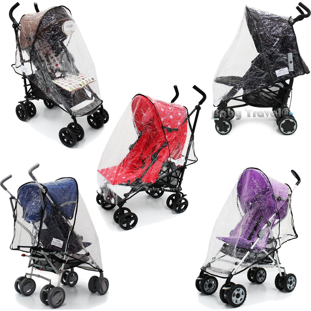 Baby Stroller Rain Cover To Fit My Babiie, Chicco, Maclaren And So Many More!