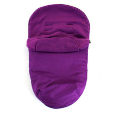 Luxuary Plum Footmuff Fits Red Kite Push Me Urban Jogger - Baby Travel UK  - 2
