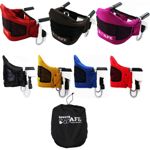 iSafe Baby Fast Fit Booster Seat YummyLUV Table Highchair - Various Colors