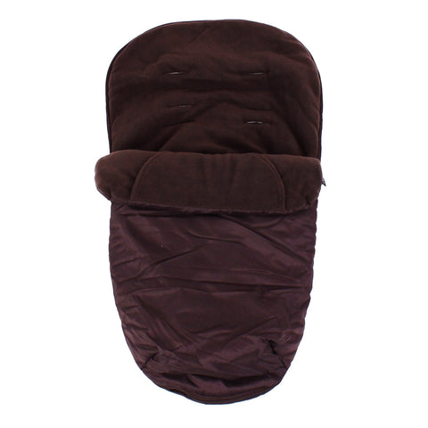Deluxe 2 In 1 Footmuff For Petite Star Zia - Brown