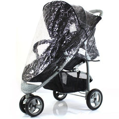 Rain Cover To Fit Petite Star Zia Pushchair Raincover - Baby Travel UK