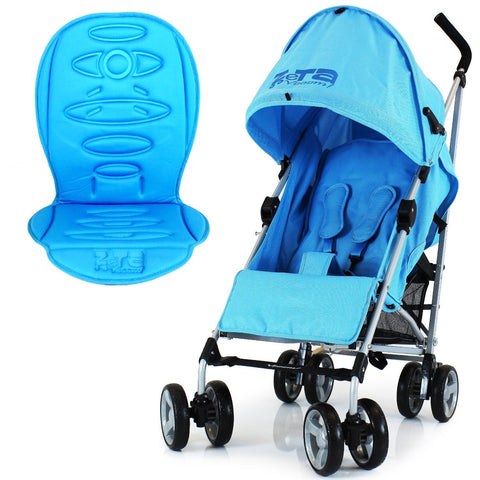 ZeTA Vooom Stroller Ocean With Luxury Padded Liner