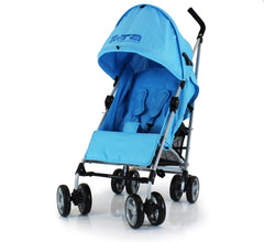 ZeTA Vooom Stroller Ocean With Luxury Padded Liner - Baby Travel UK  - 4