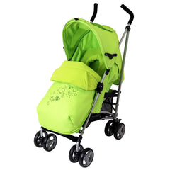 New Baby Stroller Pushchair Buggy With Footmuff Headhugger - Baby Travel UK  - 2