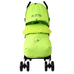 New Baby Stroller Pushchair Buggy With Footmuff Headhugger - Baby Travel UK  - 3