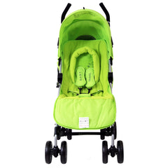 New Baby Stroller Pushchair Buggy With Footmuff Headhugger - Baby Travel UK  - 6