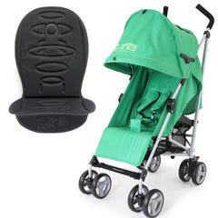 Zeta Vooom - Leaf With Luxury Buggy Stroller Padded Liner And RainCover - Baby Travel UK  - 1