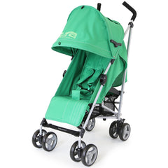 Zeta Vooom Baby Pushchair & Deluxe Footmuff - Leaf - Baby Travel UK  - 5
