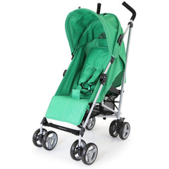Zeta Vooom Baby Pushchair & Deluxe Footmuff - Leaf - Baby Travel UK  - 6
