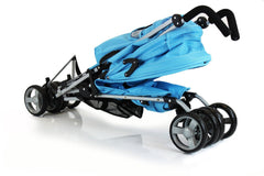 New Zeta Vooom Stroller Blue - Baby Travel UK  - 8