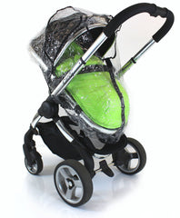Rain Cover For Obaby Zezu Stroller & Carrycot Raincover All In One Zipped - Baby Travel UK  - 6