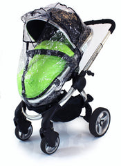 Rain Cover For Obaby Zezu Stroller & Carrycot Raincover All In One Zipped - Baby Travel UK  - 1