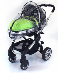 Rain Cover For Obaby Zezu Stroller & Carrycot Raincover All In One Zipped - Baby Travel UK  - 2