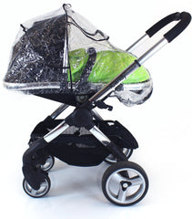 Rain Cover For Obaby Zezu Stroller & Carrycot Raincover All In One Zipped - Baby Travel UK  - 5