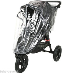 Rain Cover Universal  Zipped Hauck Baby Jogger 3 Wheeler Pushchair Raincover - Baby Travel UK  - 4
