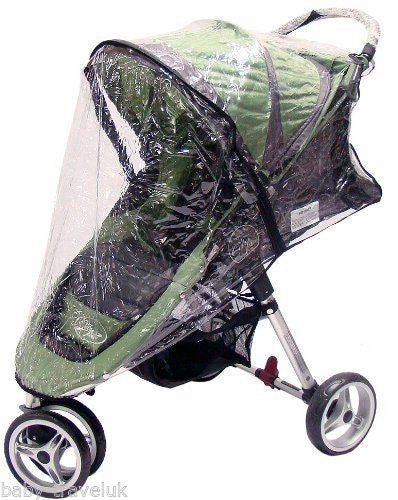 Rain Cover To Fit Baby Jogger City Mini Leaf - Baby Travel UK  - 1