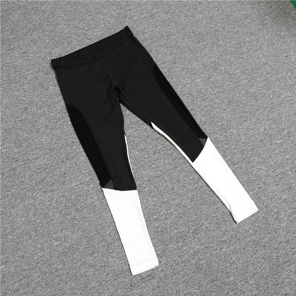 Leggings For Women High Waist Sports Legging Pants Sports Gym Running Leggings Sport Women Fitness Pants Workout