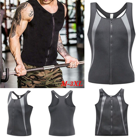 Zipper Bodybuilding Stringer Tank Tops men Gyms Stringer Shirt Fitness Tank Top Men Gyms Clothing Muscle Solid Vest