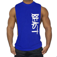 New Men's Stringer Bodybuilding Tank Top Gym Running Fitness Singlet Sleeveless Muscle Vest Athletics