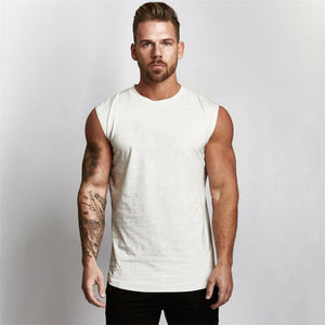 Gyms Workout Sleeveless Shirt Tank Top Men Bodybuilding Clothing Fitness Mens Sportwear Vests Muscle Men Tank Tops